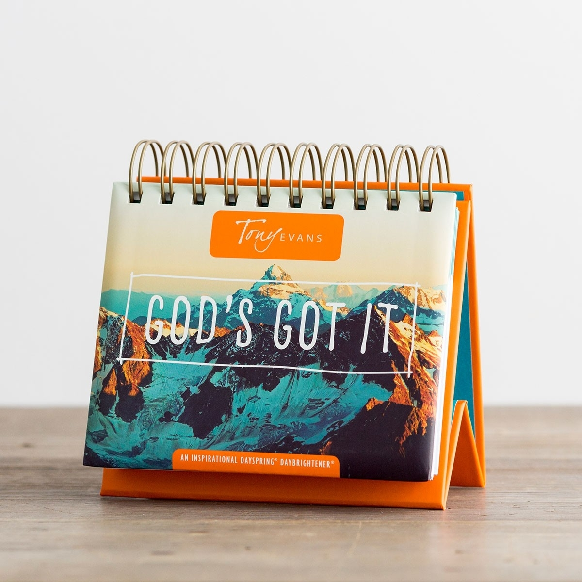 Tony Evans - God's Got It - 365 Day Perpetual Calendar | Dayspring within Add Your Own Picture To A 365 Days Perpetual