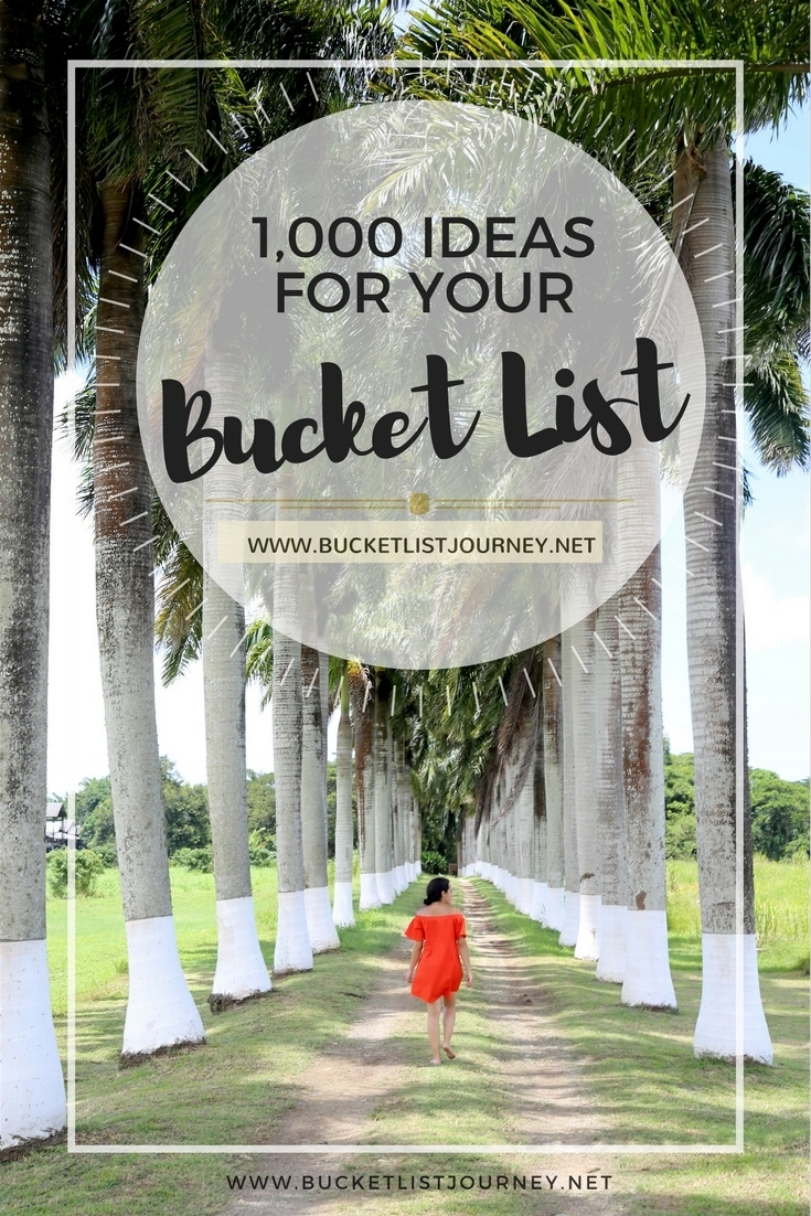 Unique Bucket List: 1000+ Ideas — Live The Dream intended for Planning Date Night Checklist Template