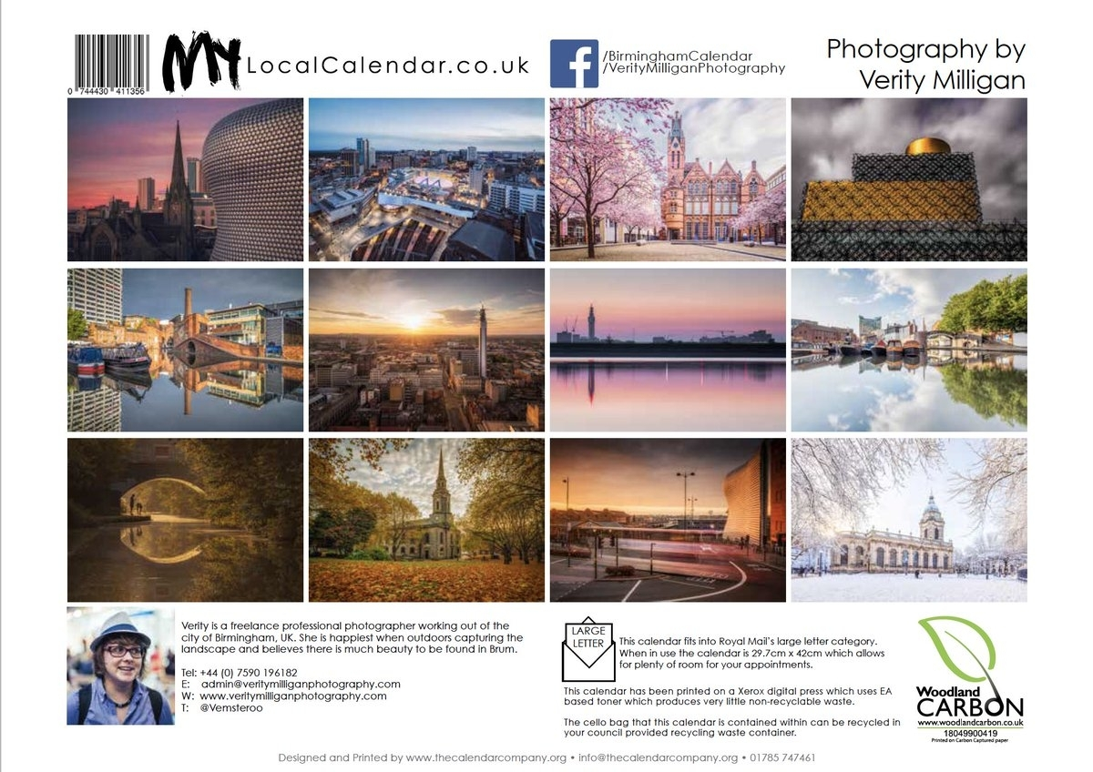 """Verity Milligan On Twitter: """"morning All! My 2019 """"Beauty Of in Calendar Prints Related To Beauty Of Water"""