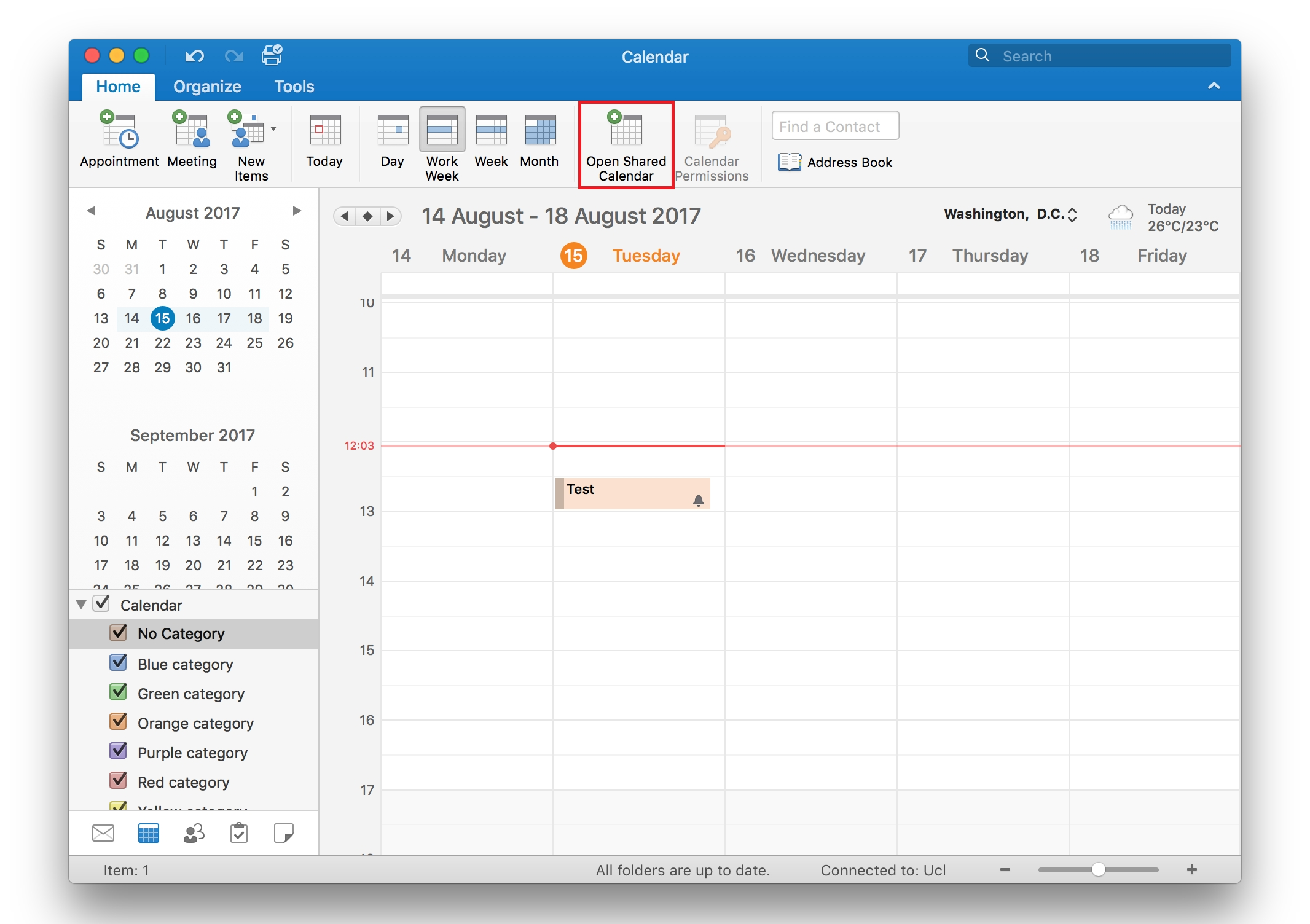 View Another Person's Calendar In Outlook 2016 For Mac | Information pertaining to How To See A Calendar In Outlook