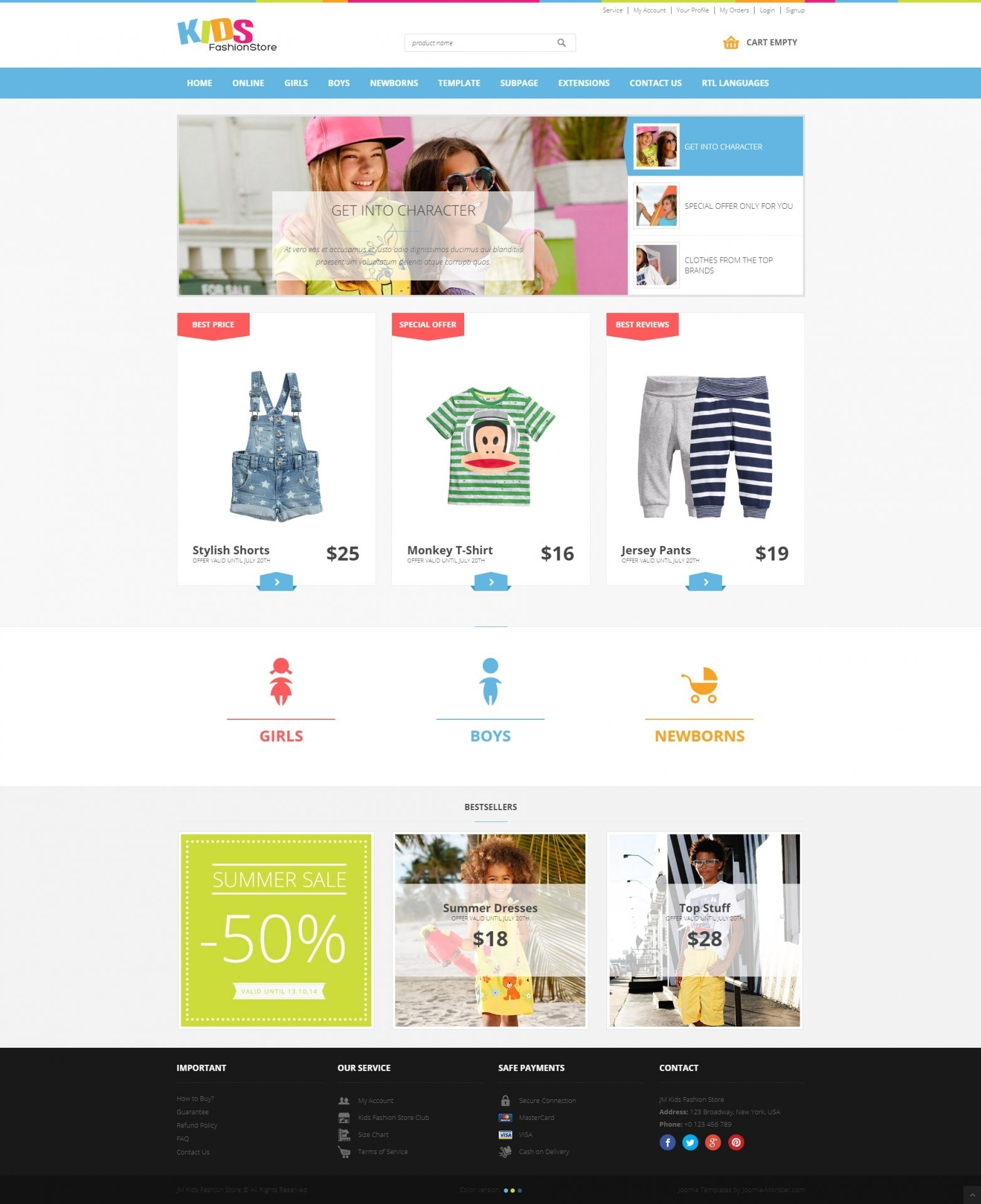 Websites Built On Joomla-Monster's Templates - Joomla-Monster pertaining to Free Templates Online For Children