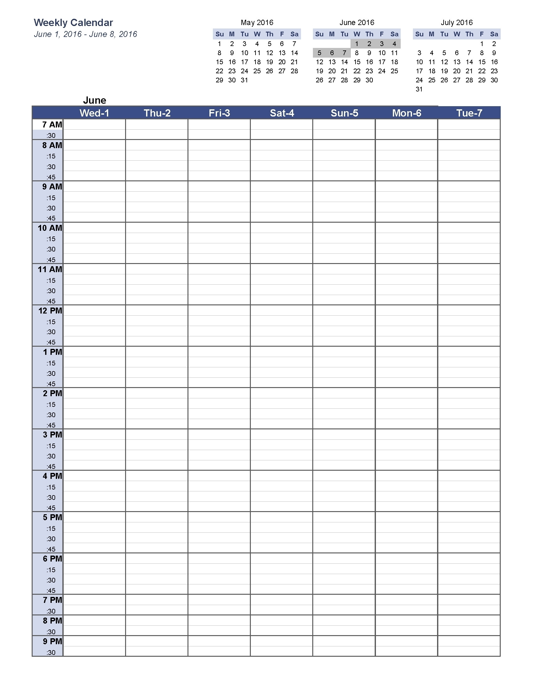 Weekly Planner Printable 5 Am Start | Holidays Calendar Template with regard to Weekly Planner Printable 5 Am Start