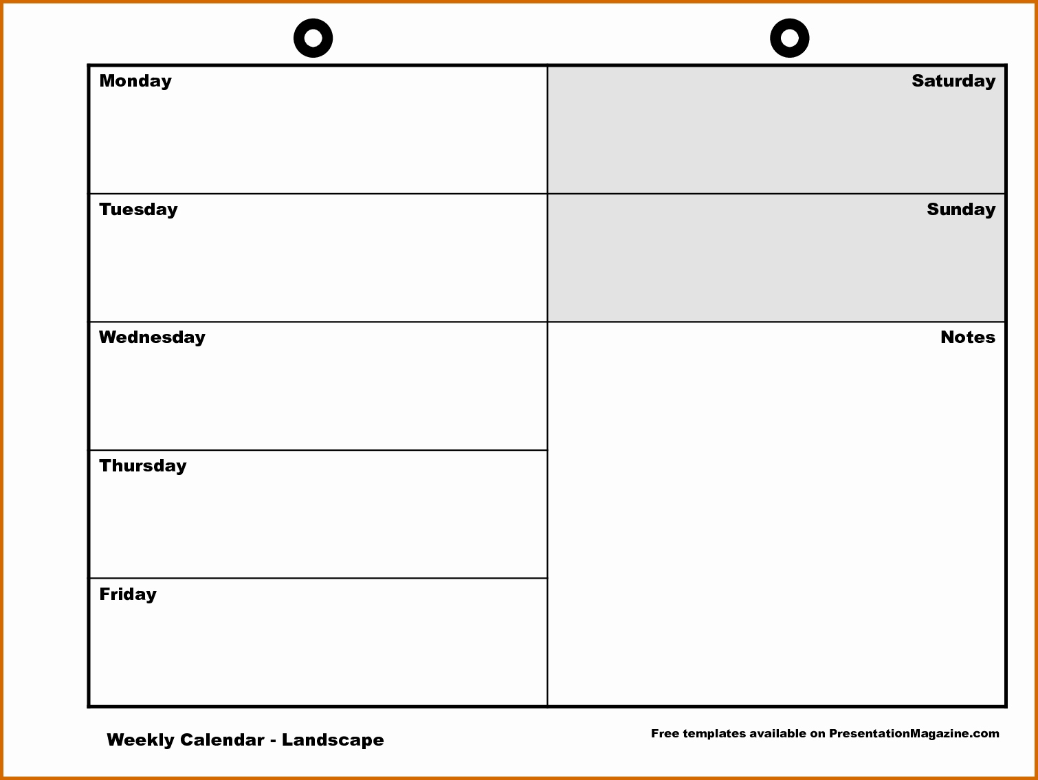 Weekly Schedule Template Printable | Cranfordchronicles intended for Weekly Schedule Monday Through Friday
