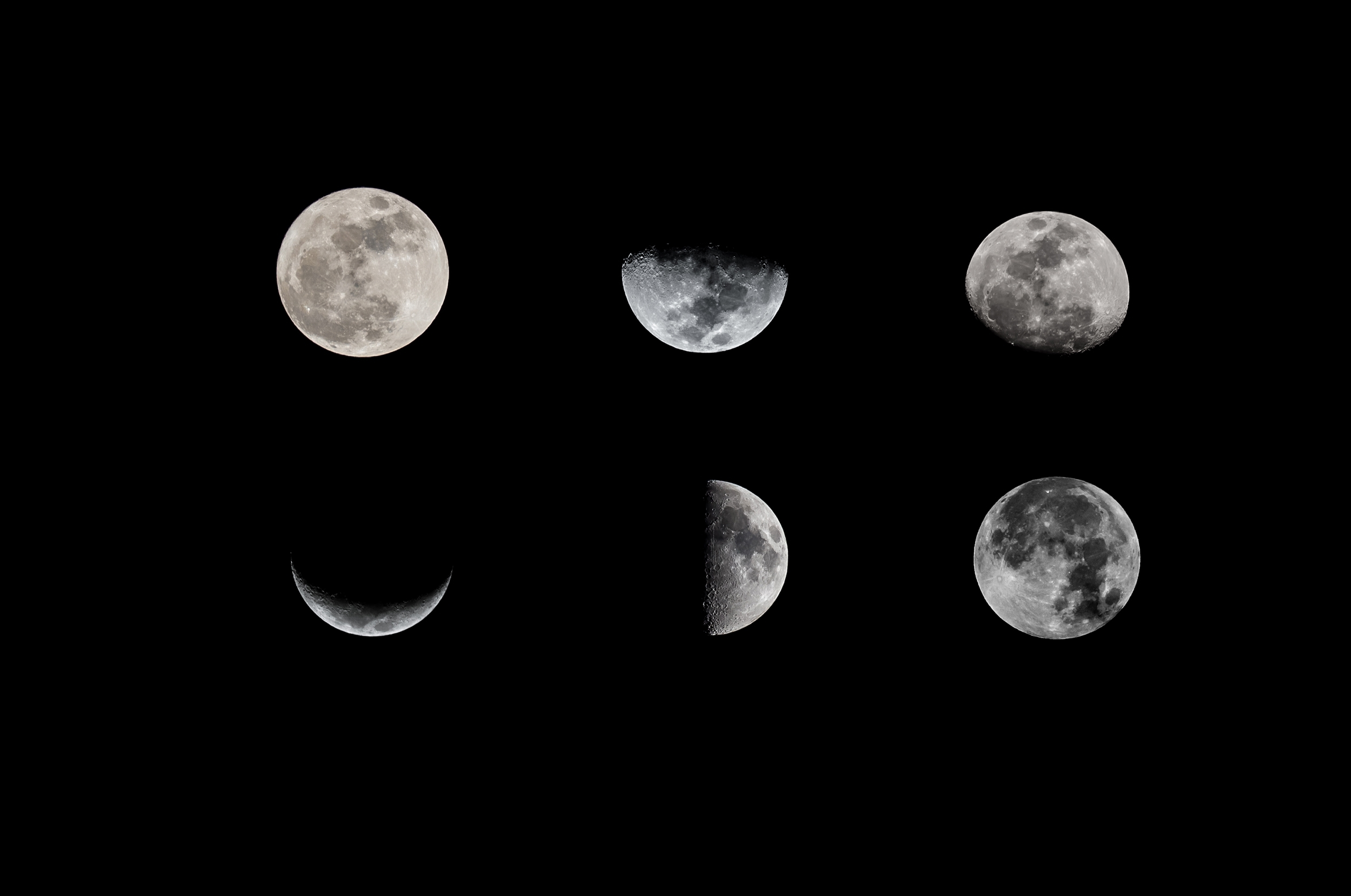 What Are The Phases Of The Moon? throughout Phases Of The Moon Over The Month