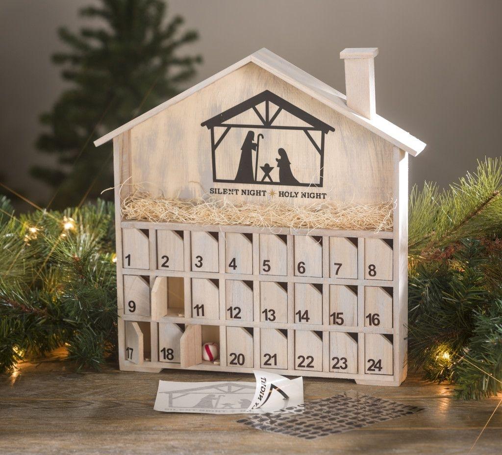 Wood Advent Diy Calendar | Seasonal Crafts | Diy Calendar, Wood in Create An Advent Calender Wooden