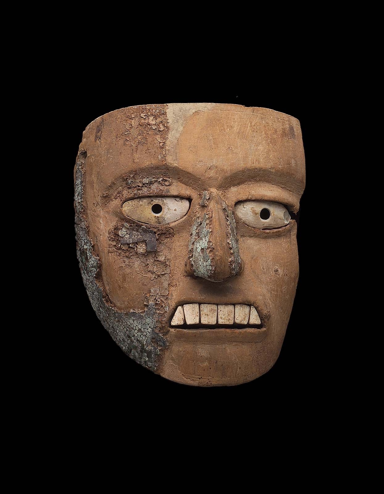 Wooden Mask | Museum Of Fine Arts, Boston in Aztec Masks And Ther Meanings