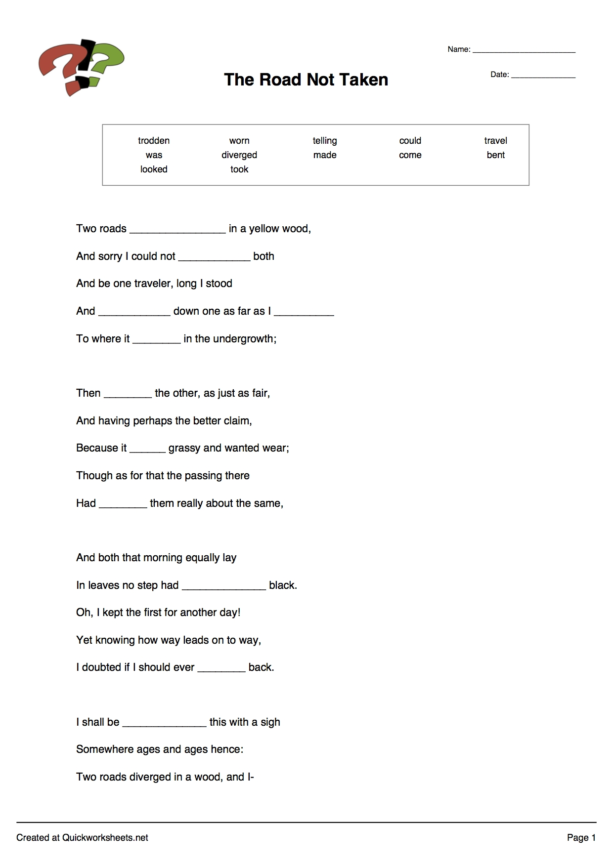 Word Scramble, Wordsearch, Crossword, Matching Pairs And Other with regard to Fill In The Blank Long A
