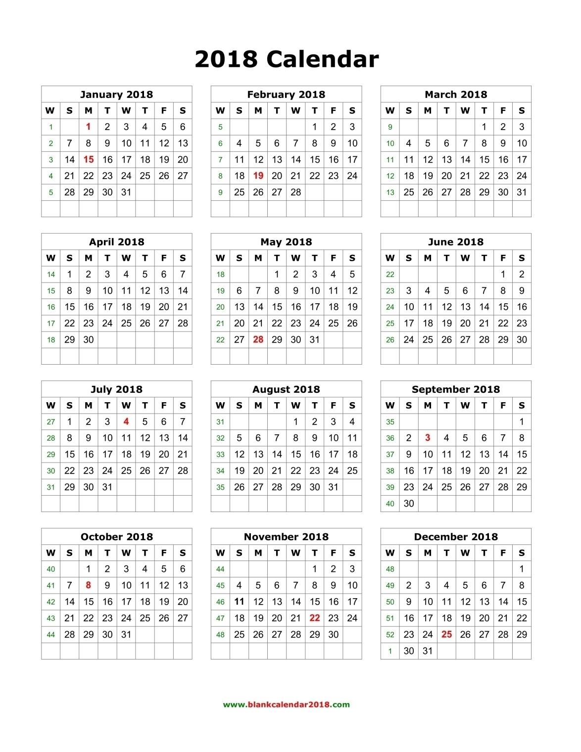 Year At A Glance Calendar 2017 Printable - Printable Calendar throughout Year At A Glance Printable Calendars