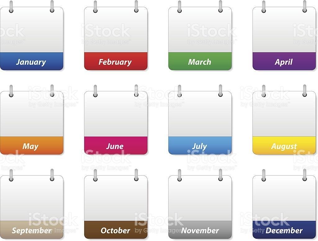 Yearly Calendarmonth   Year Printable Calendar for Calendar Months Of The Year