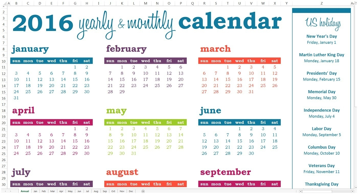 Yearly Events Calendar Activity Calendar Template Free 2018 Calendar regarding Template For An Event Calendar