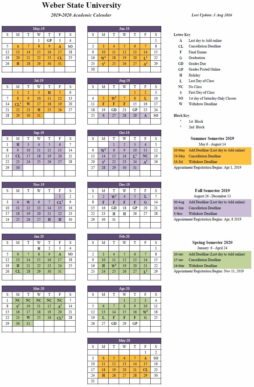 2019-2020 (Approved) regarding U Of M Calendar 2019-2020 School Year
