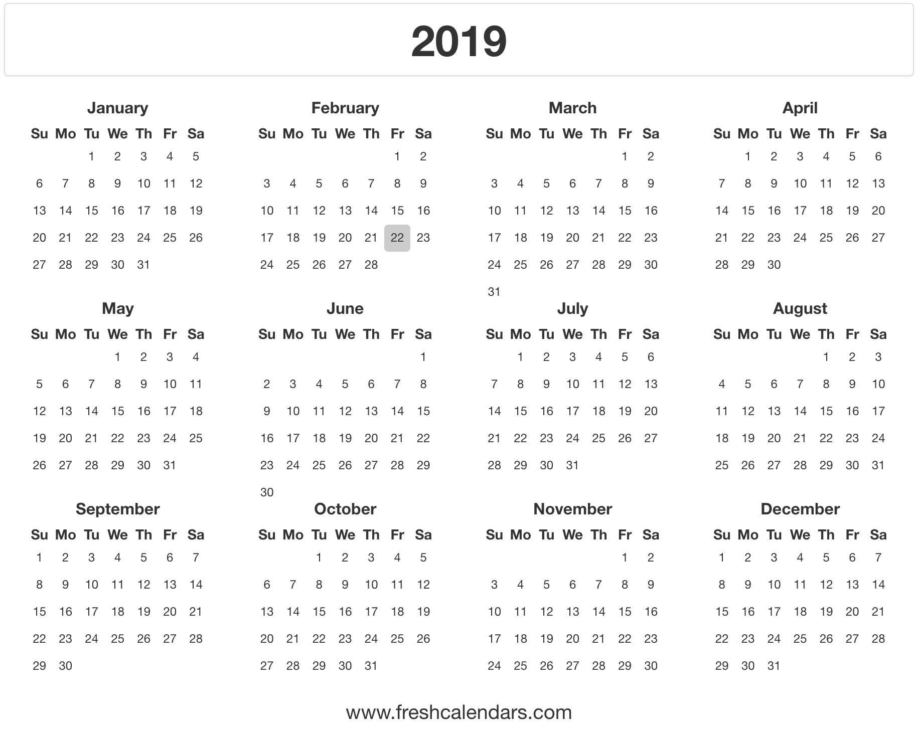 2019 Calendar regarding Calendar April 2019 Thru April 2020, Printable