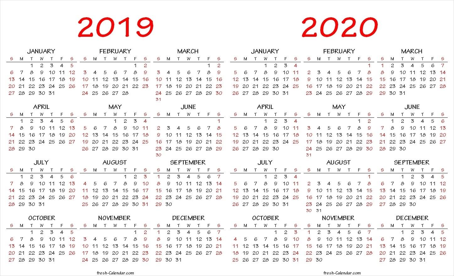 2020 Calendar Wallpapers - Wallpaper Cave inside 2019-2020 Free Blank Calendars