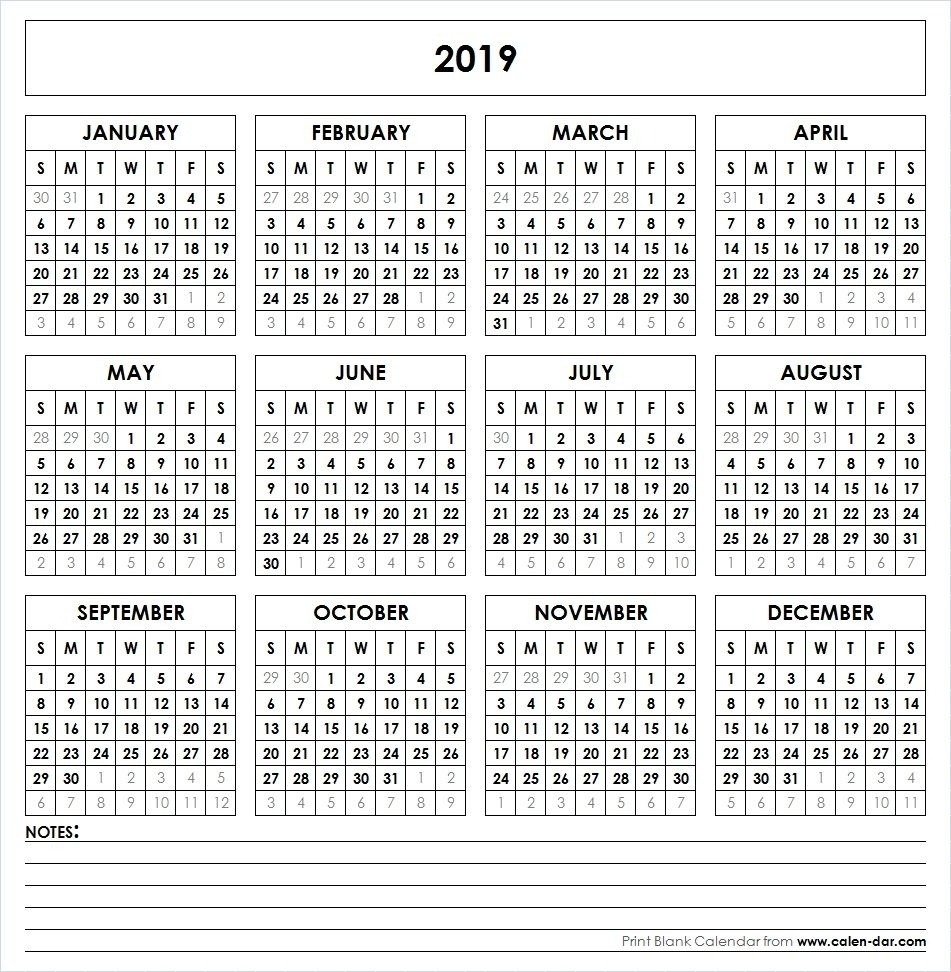 2020 Year At A Glance Basic Word | Template Calendar Printable inside 2020 Year At A Glance Basic Word