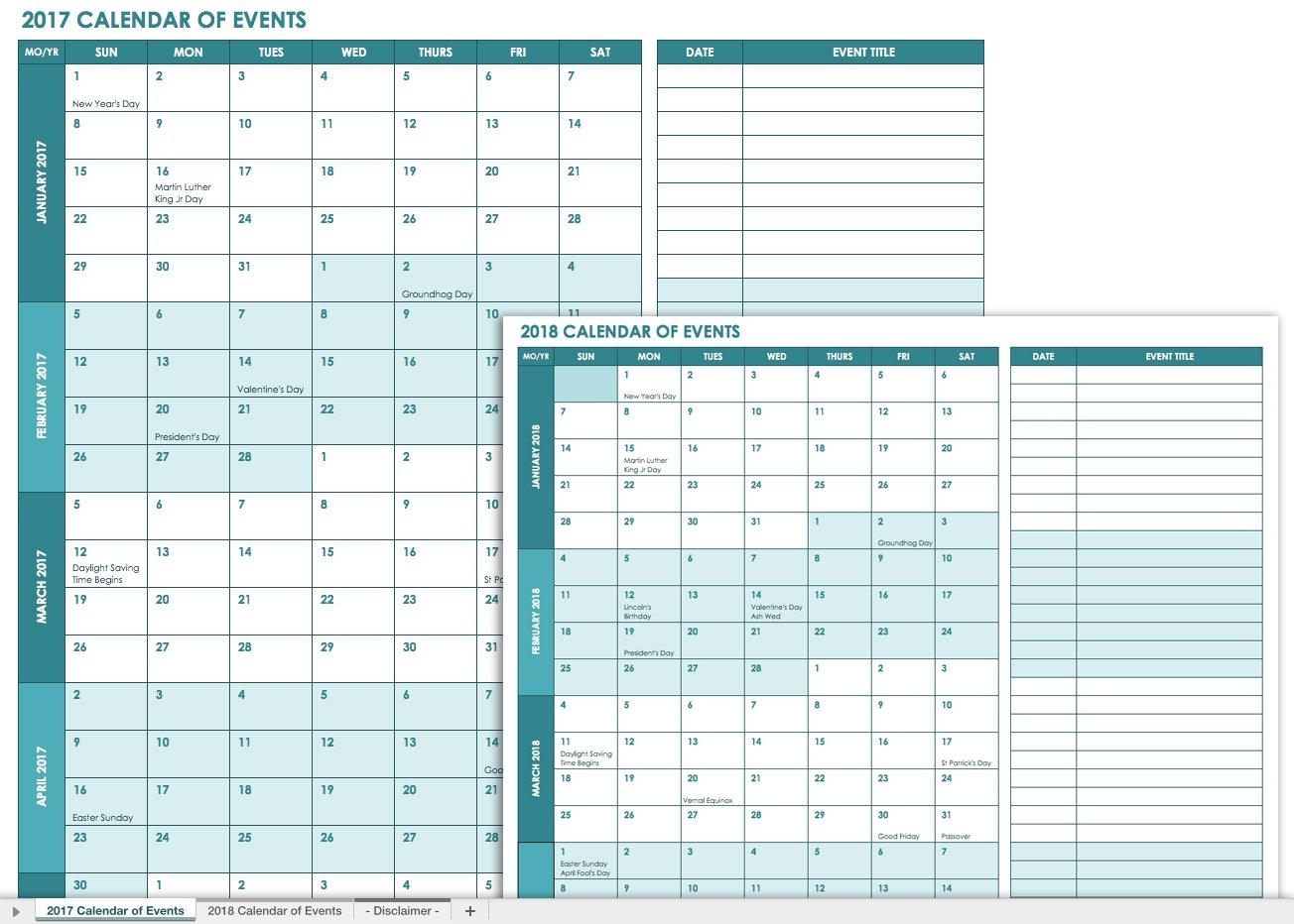 21 Free Event Planning Templates | Smartsheet inside Event Planning Template Excel Free