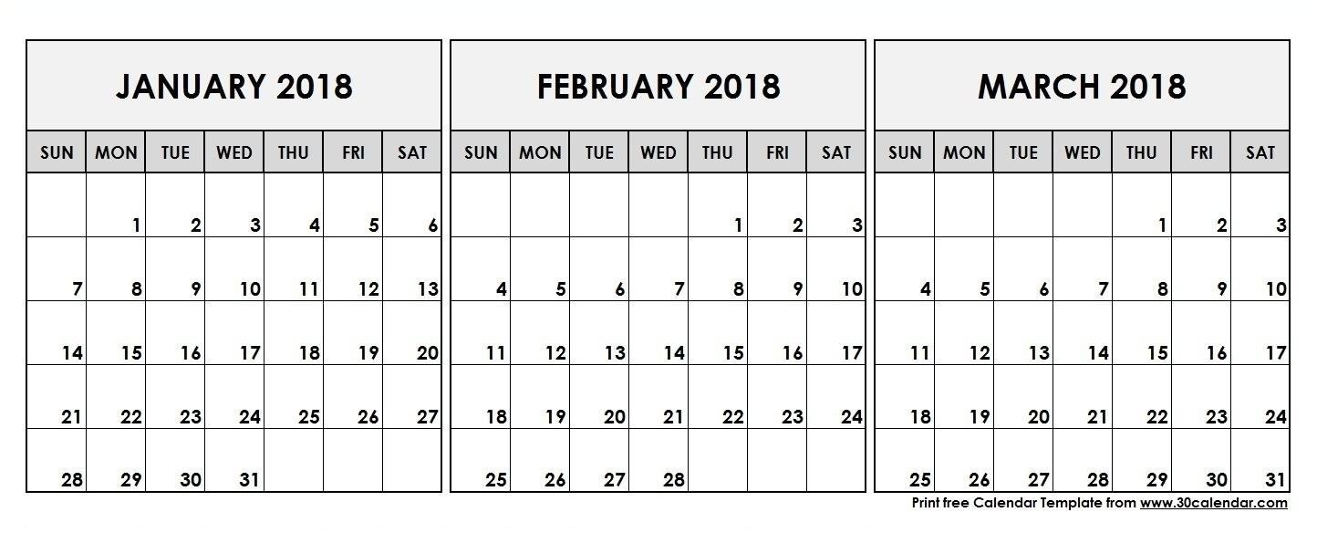 3 Month Calendar Template Word 2019 • Printable Blank Calendar Template intended for 3 Month Calendar Template Word