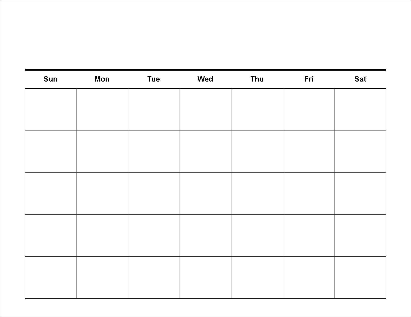 30 Day Blank Calendar Template 2 Week Blank Calendar Printable throughout 2 Week Blank Calendar Template