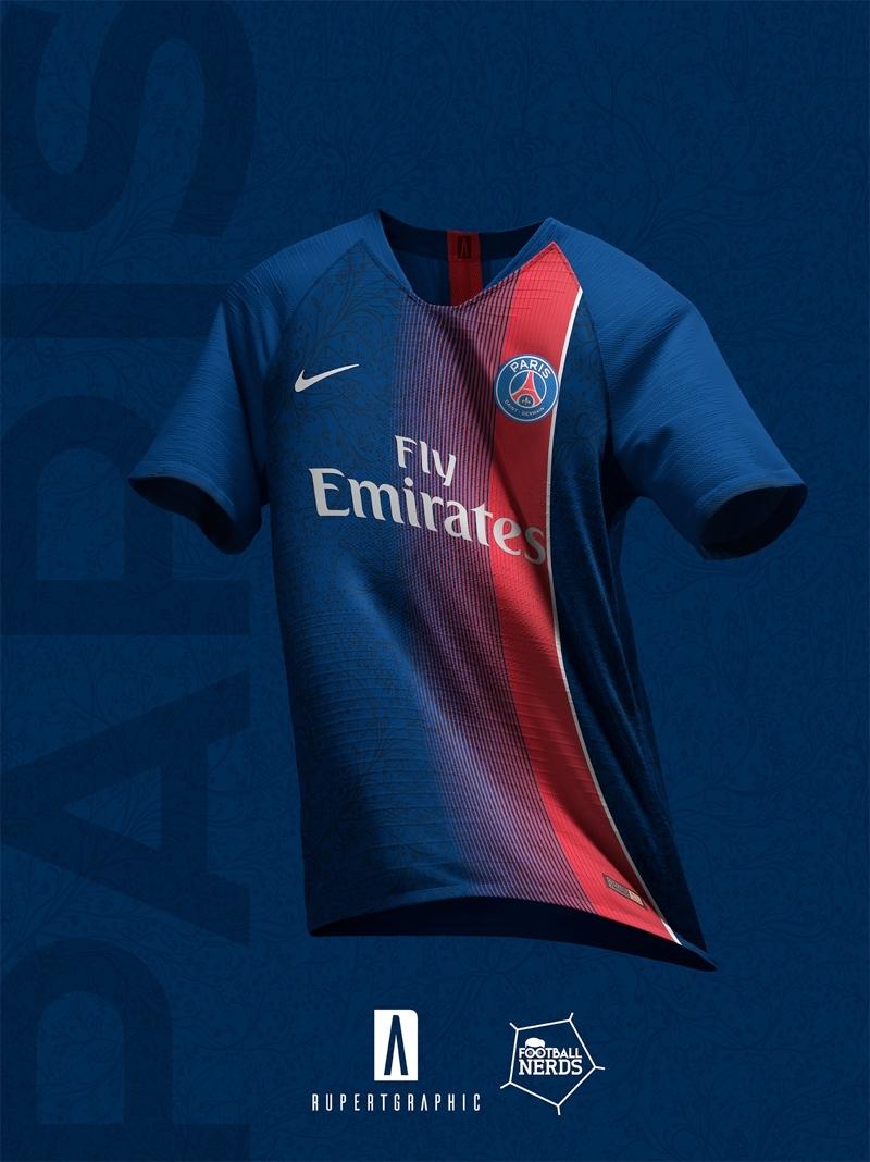 4 Unique Paris Saint-Germain 2019 Concept Kitsrupertgraphic intended for Psg Calendar 2019-2020