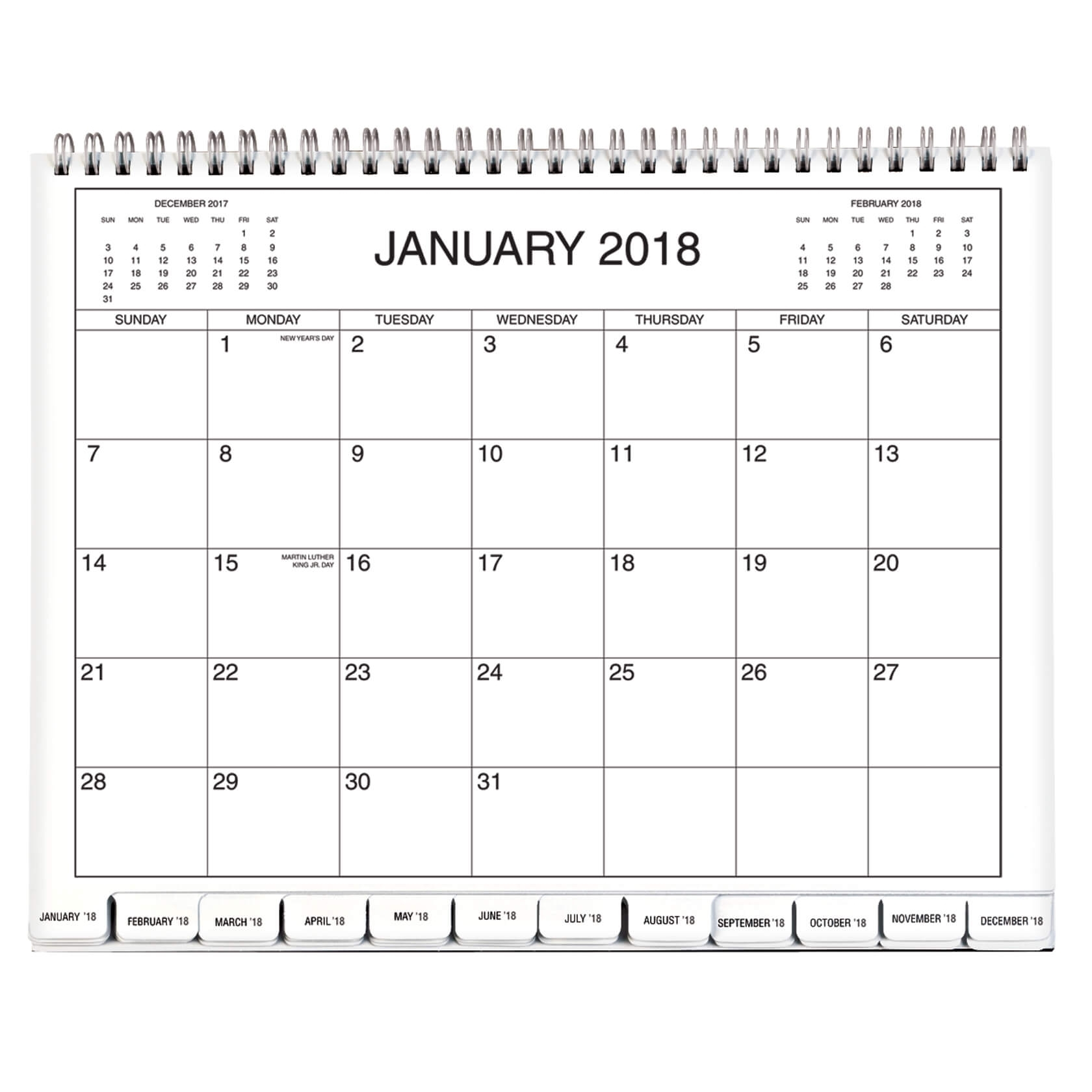 5 Year Calendar 2018-2019-2020-2021-2022 - Monthly Calendar - Walter intended for Year Calendar 2020 With Space To Write
