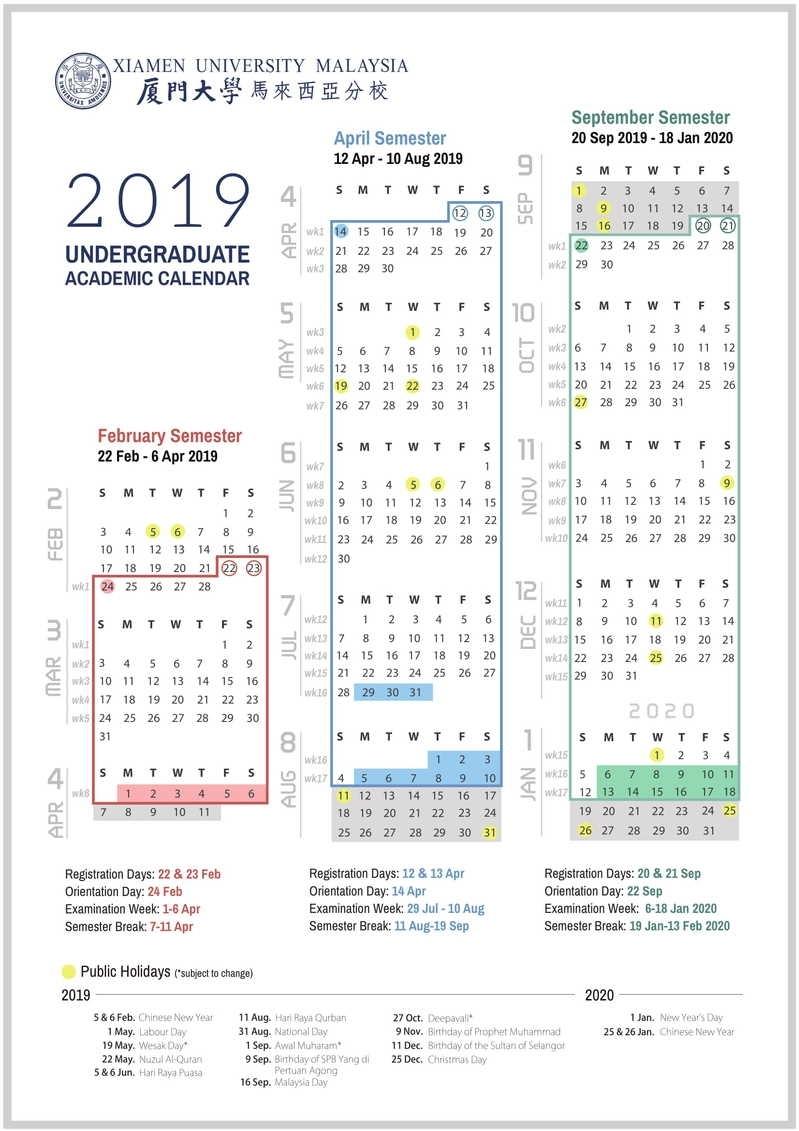 Academic Calendar & Courses regarding U Of M Calendar 2019-2020 School Year