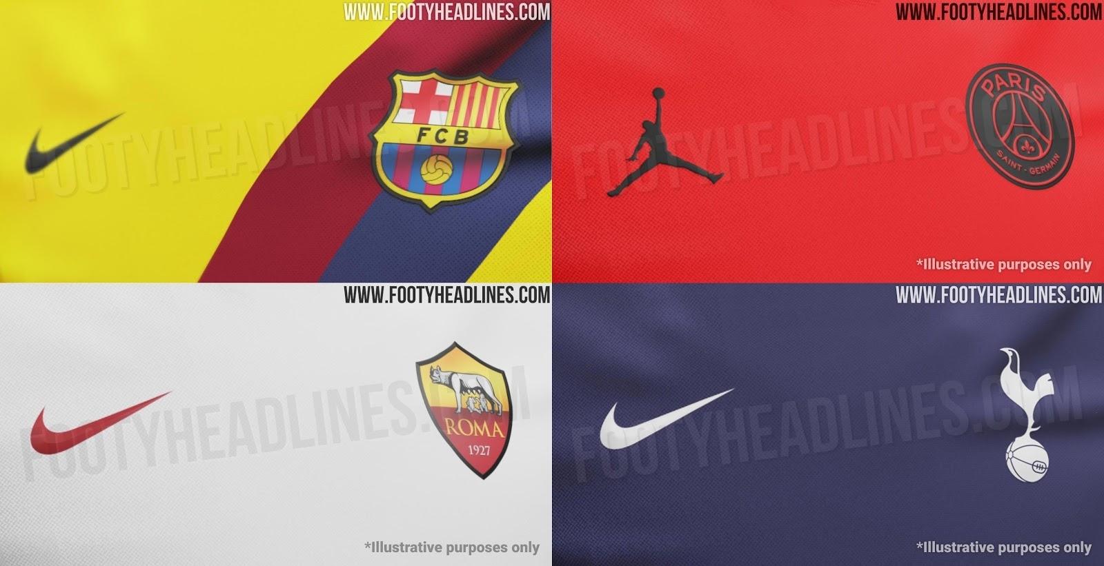 All Nike 19-20 Away Kit Infos Leaked - Barcelona, Jordan Psg & All throughout Psg Calendar 2019-2020