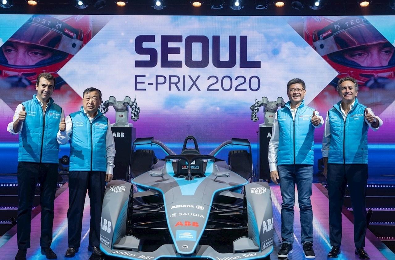 Announcing The Abb Fia Formula E Seoul E-Prix In 2020 inside 2020 Formula E Calendar