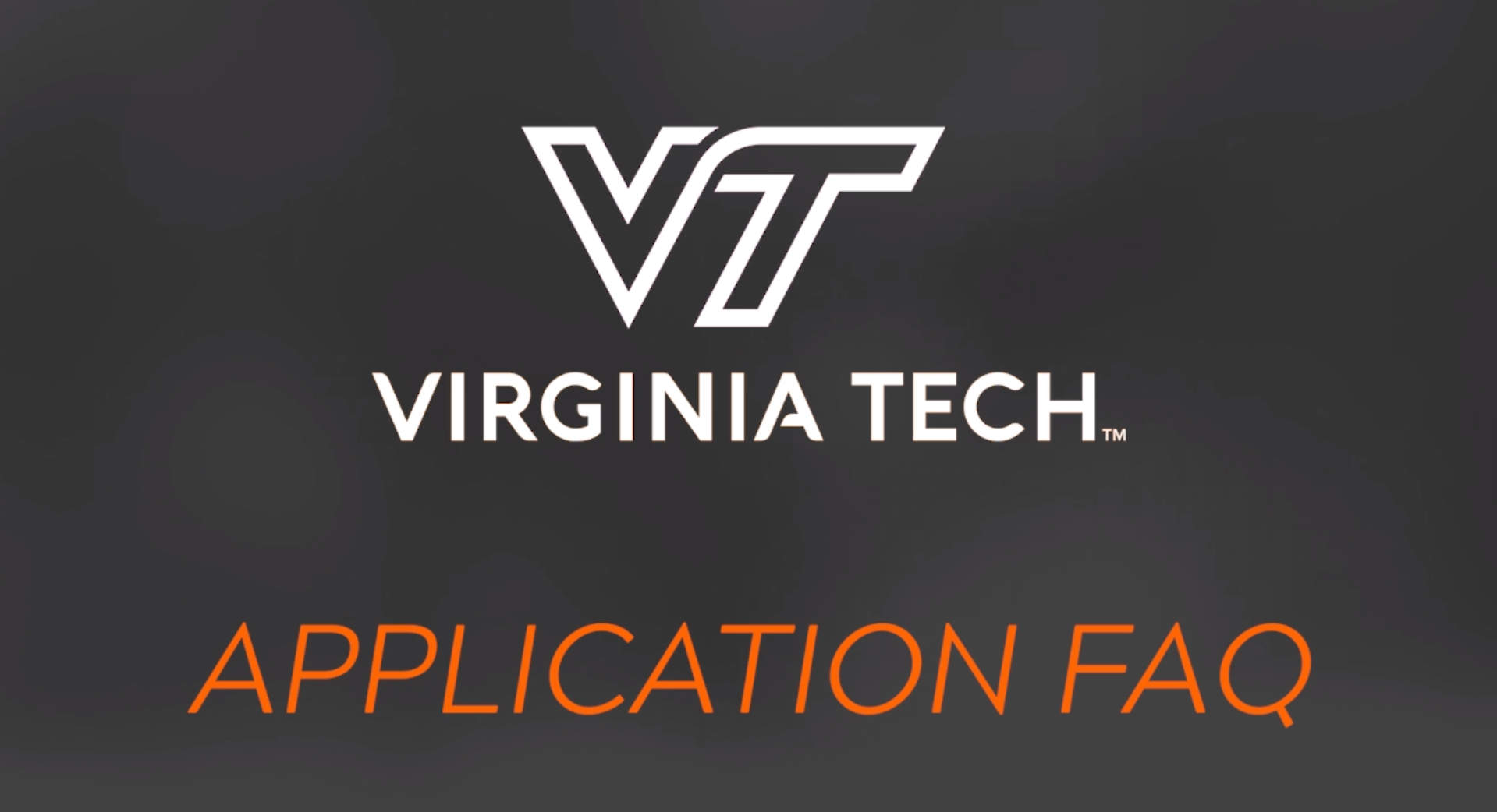 Applying For Admission To Virginia Tech | Virginia Tech in Virginia Tech Academic Calendar 2019 2020