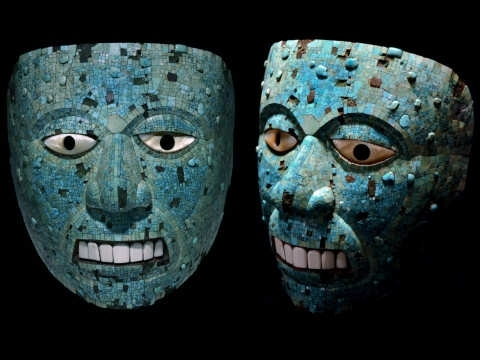 Aztec Masks | Scary Website intended for Aztec Masks And Their Meanings
