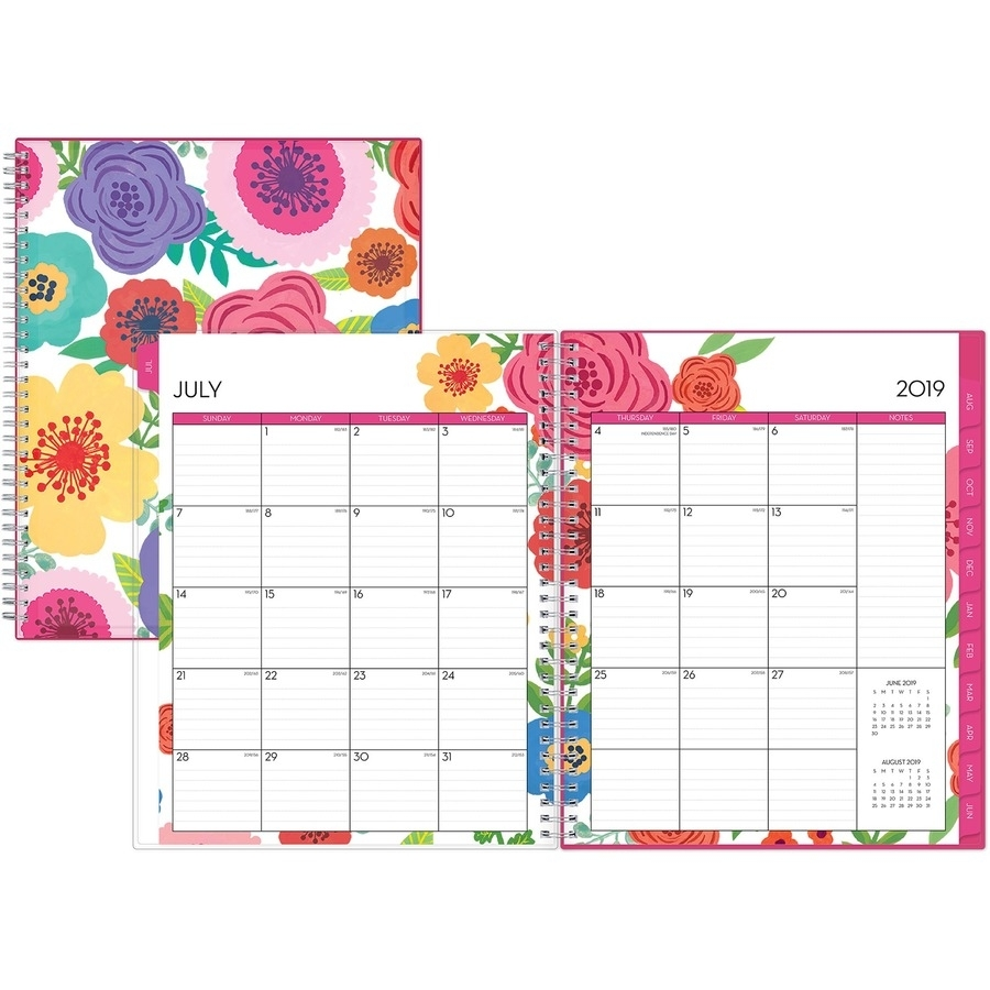 Blue Sky Mahalo Cyo 8.5 X 11 Weekly/monthly Planner - Yes - Weekly for 8.5 X 11 Calander Filler For 2020