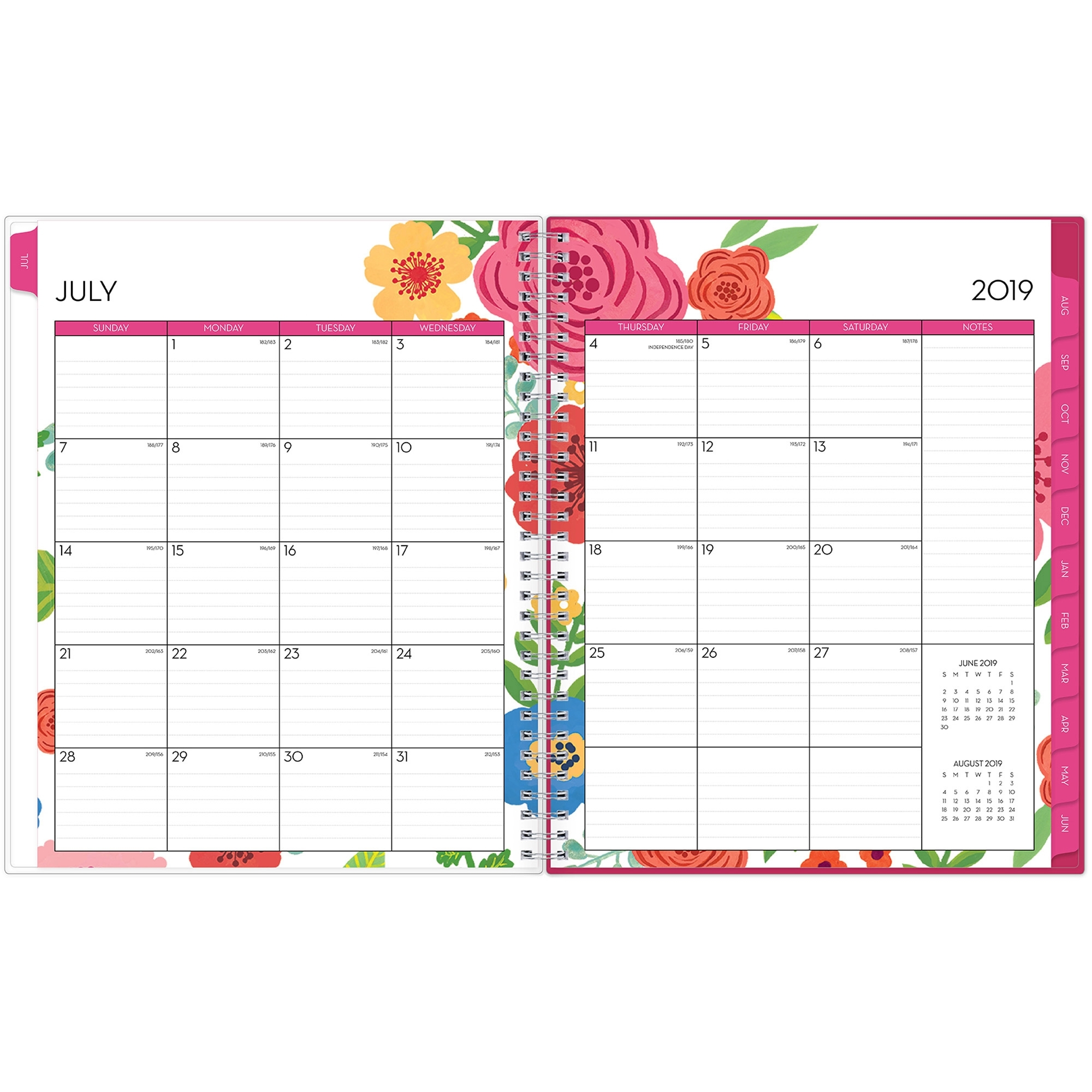 Blue Sky Mahalo Cyo 8.5 X 11 Weekly/monthly Planner - Yes - Weekly intended for 8.5 X 11 Calander Filler For 2020