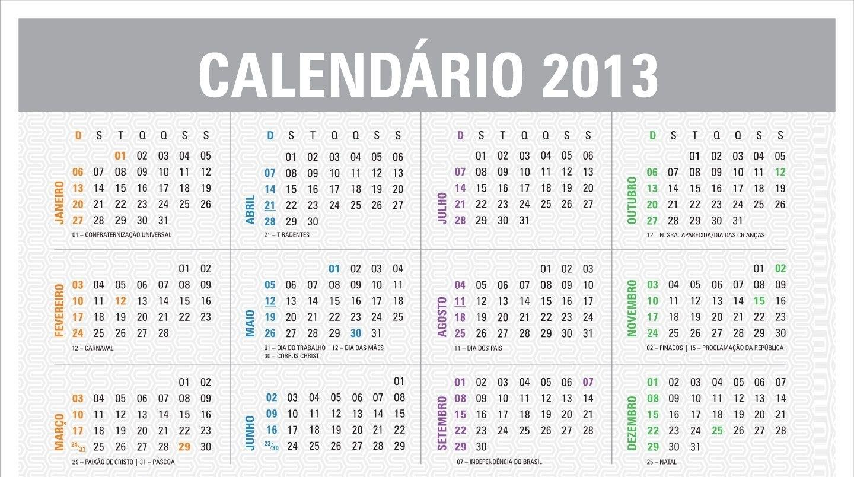 Calendario 2013 Para Imprimir Calendario 2013 Para Editar Calendario in Calendrio 2013 Para Imprimir Gratis