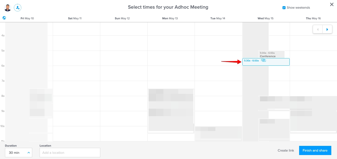 Can I Create A Special Calendly Event That Allows Double-Bookings for Schedule With Time Slots 6 Am
