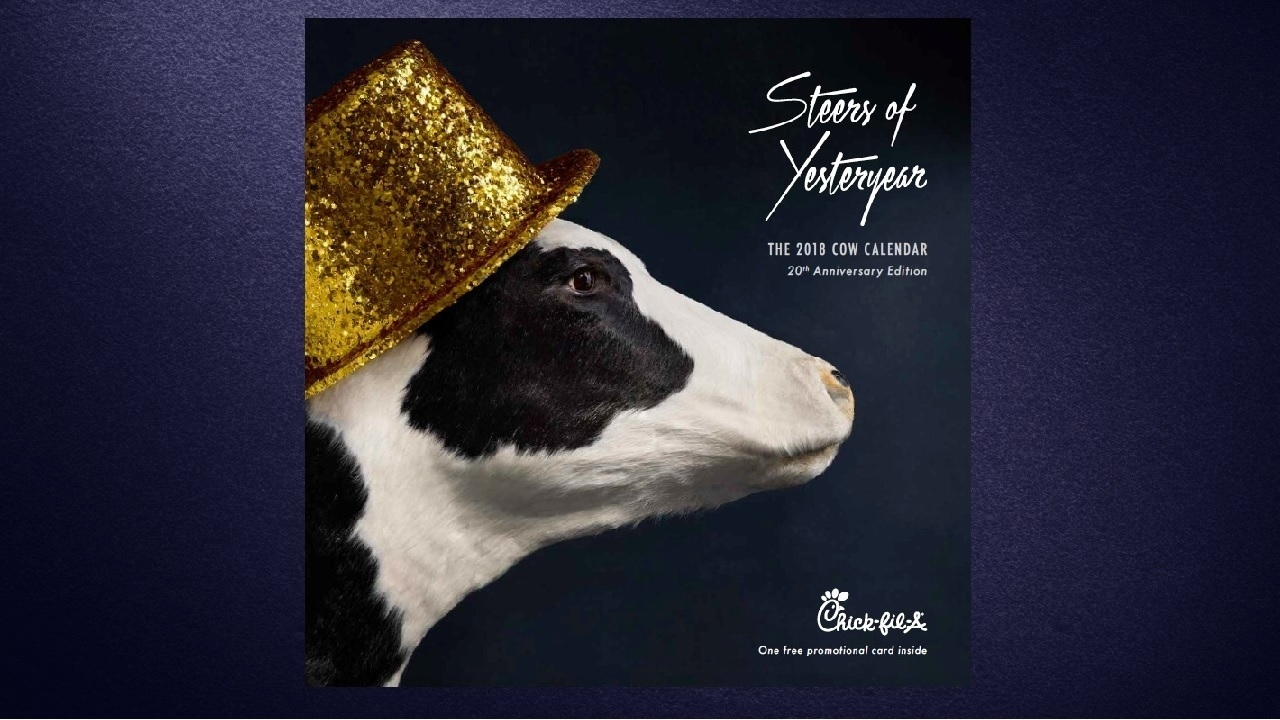 "Chick-Fil-A's ""cow Calendar"" Is Going Out To Pasture for Chick-Fil-A Calender 2020"