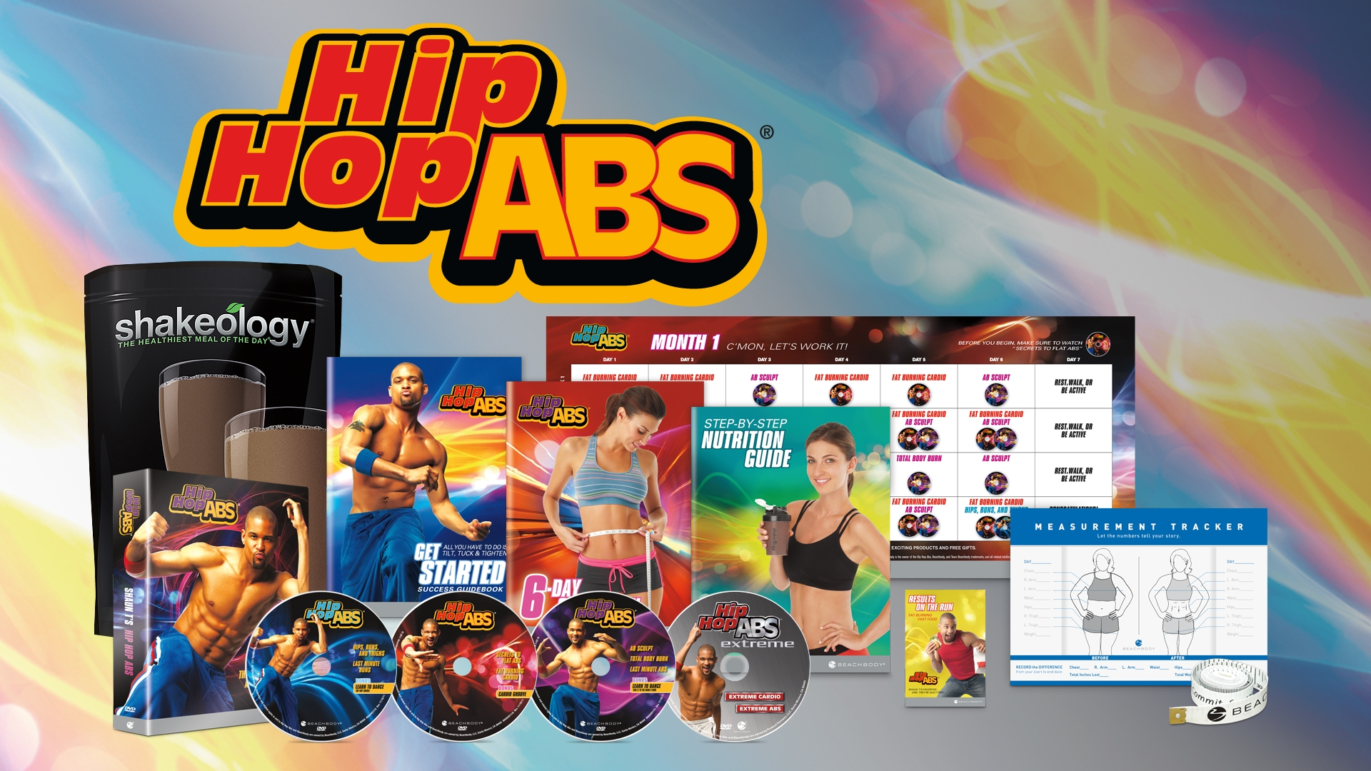 Fitness Junkees Hip Hop Abs Challenge Pack pertaining to Shaun T Hip Hop Abs Schedule