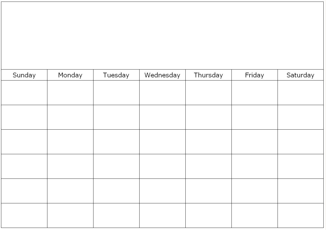 Free Printable 1 Month Calendar | You Can Find This Calendar In for Blank One Month Calendar Template