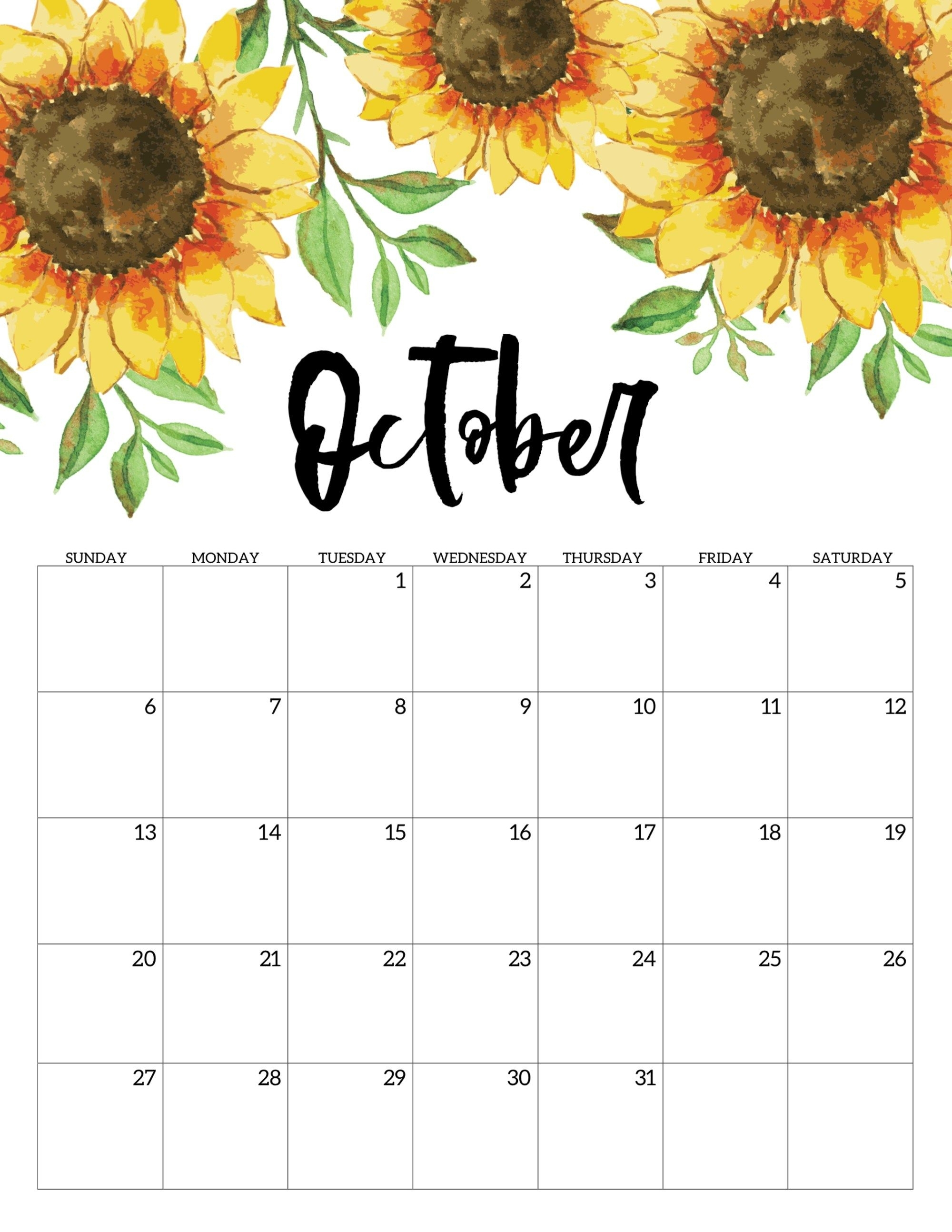 Free Printable Calendar 2019 - Floral | Calendar | Calendar 2019 for Homeschool Year At A Glance 2019-2020 Botanical Calendar Printable Free