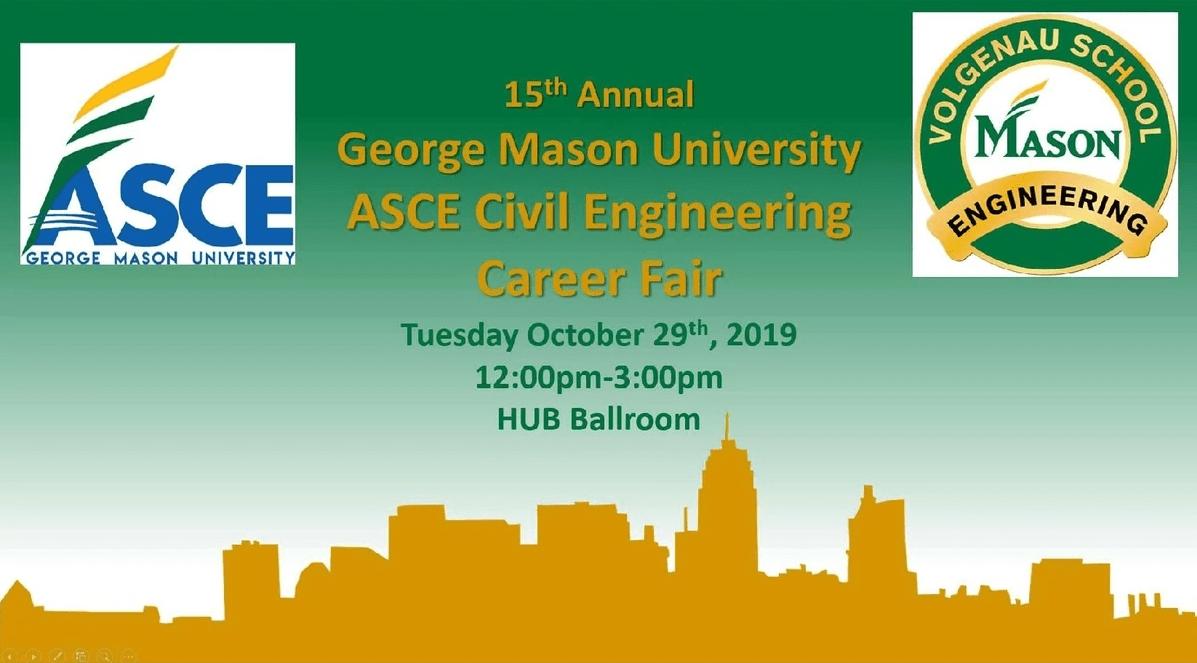 George Mason University's Asce On Strikingly inside Gmu Calendar 2019-2020