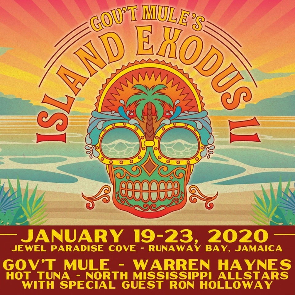 Gov't Mule Details Island Exodus 2020 Lineup with 2020 Special Days