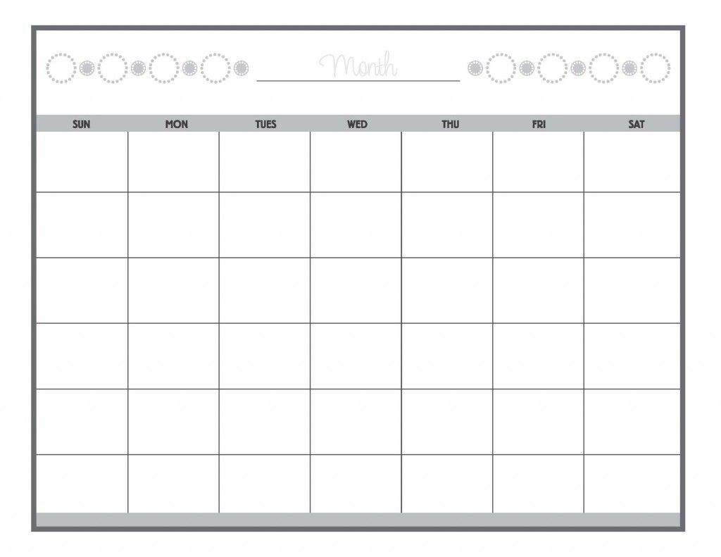 Guess The Date Print Our Calendar Grid, Then Fill In The Month And inside Printable Date To Date Calendar