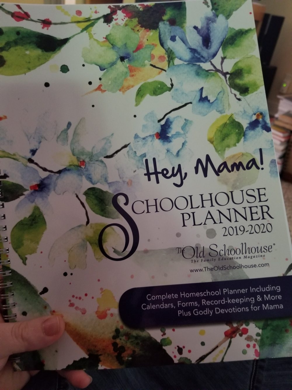 Hey, Mama! Homeschool Planner For 2019/20 Year {Review} ⋆ Creative intended for Homeschool Year At A Glance 2019-2020 Botanical Calendar Printable Free