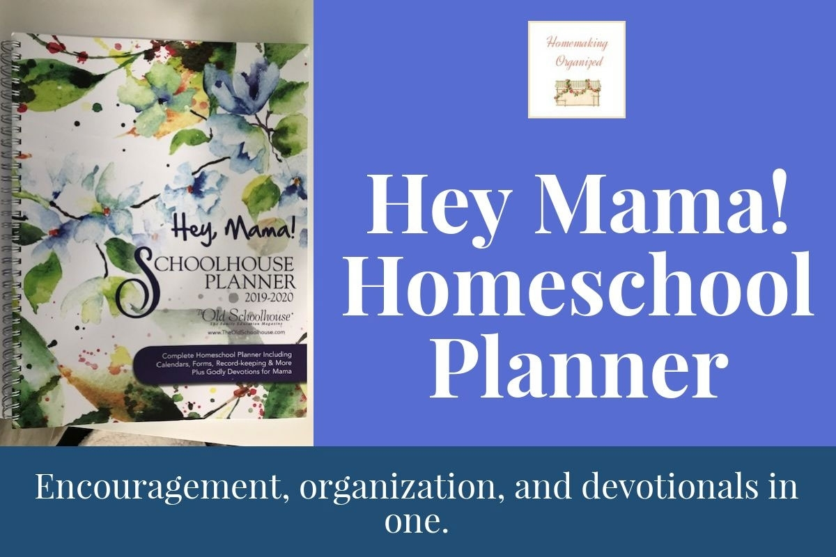 Hey Mama Homeschool Planner Review - Homemaking Organized regarding Homeschool Year At A Glance 2019-2020 Botanical Calendar Printable Free