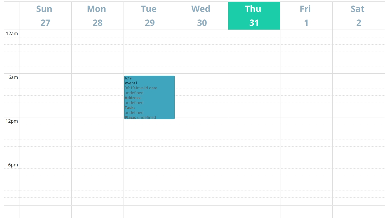 How Do I Customise Time Slots In Full Calendar? - Stack Overflow throughout Schedule With Time Slots 6 Am