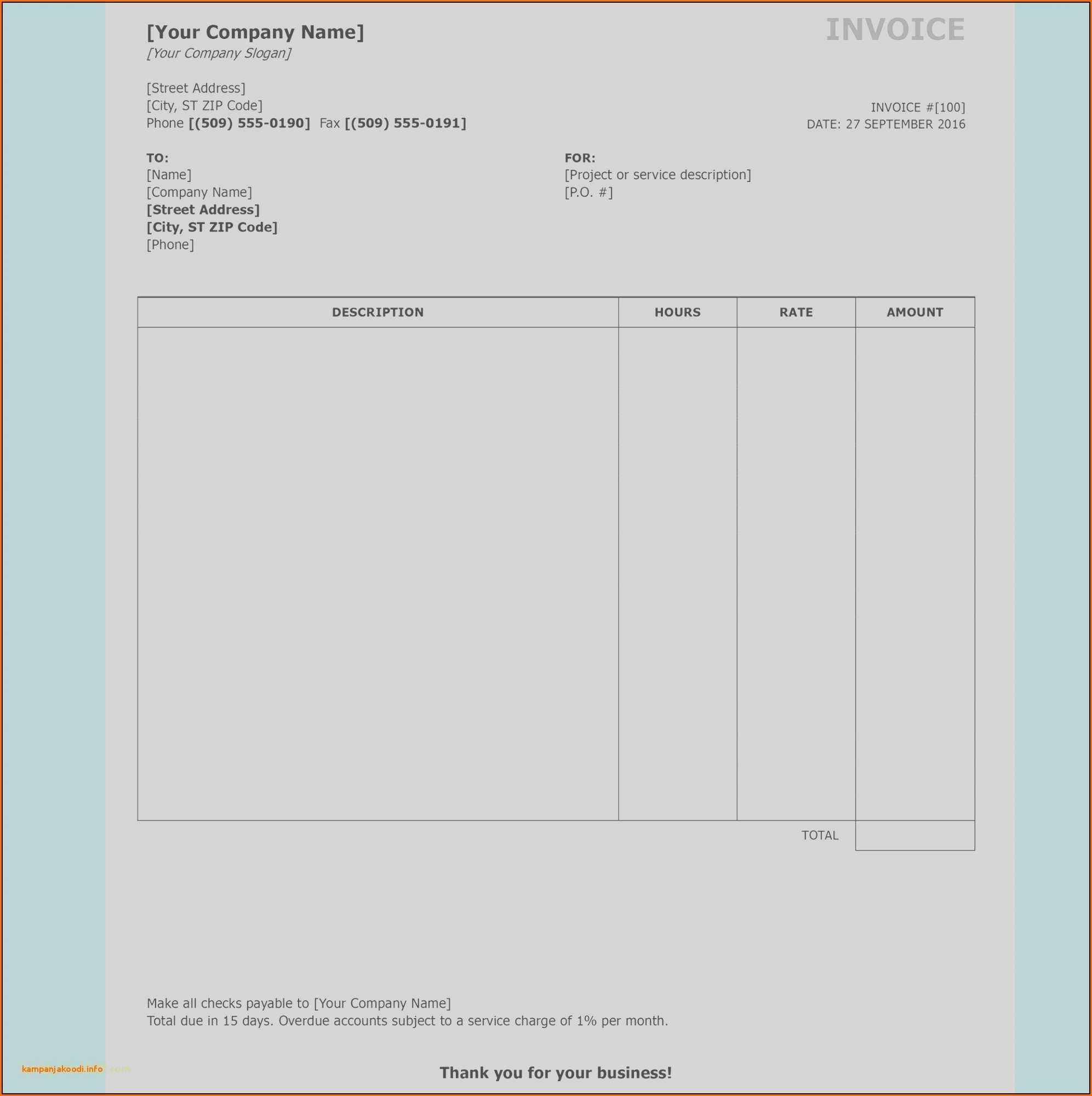 Labor Invoice Template Free And Monthly Bill Spreadsheet Template pertaining to Monthly Bills Template With Account Number And Address