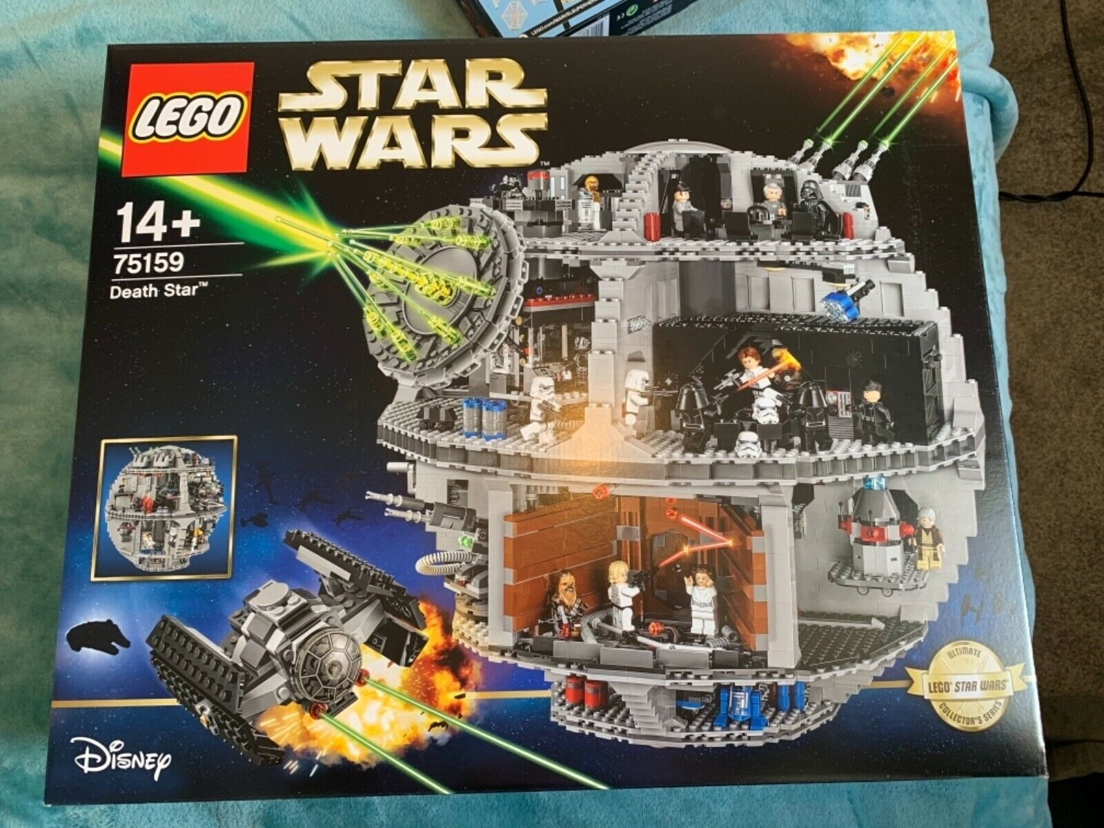 Lego 75159 Star Wars Death Star Iconic Construction Set - Xmas in The Lego Star Wars Chirstimas Set Code
