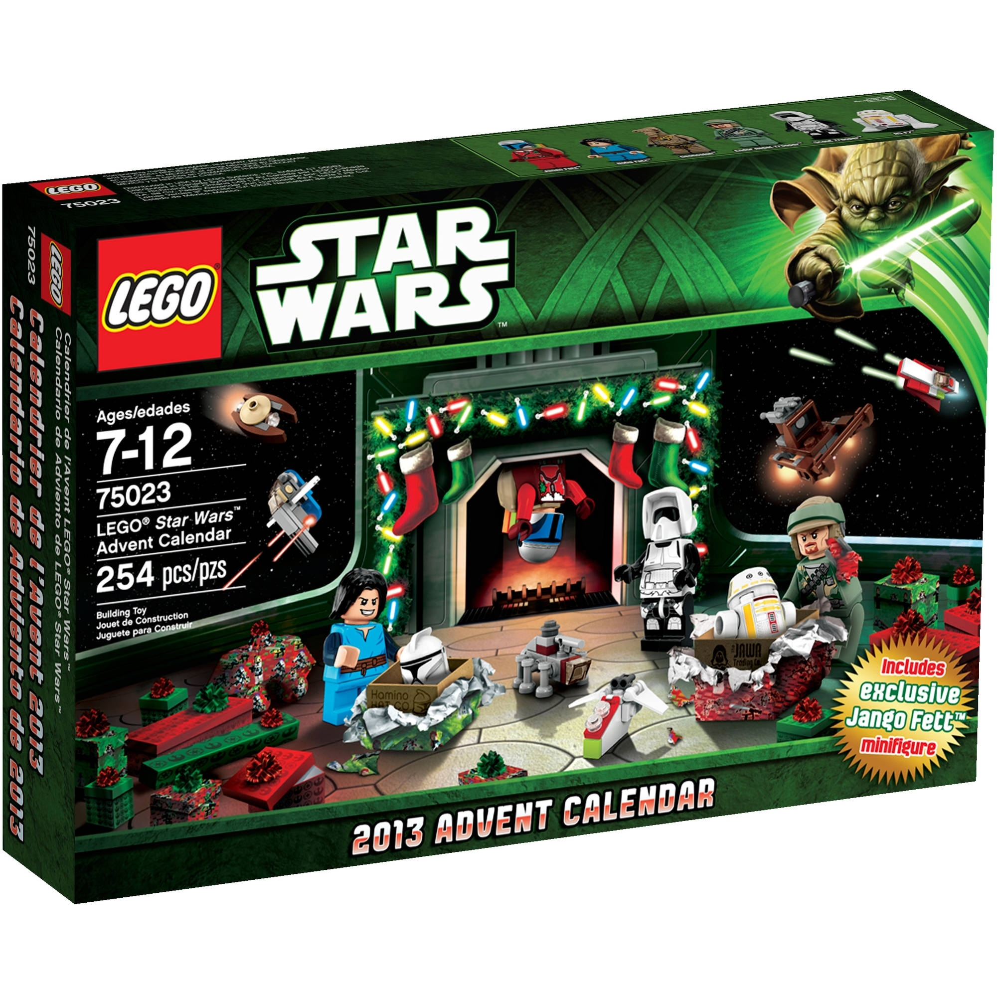 Lego Star Wars 2013 Advent Calendar - Walmart in The Lego Star Wars Chirstimas Set Code