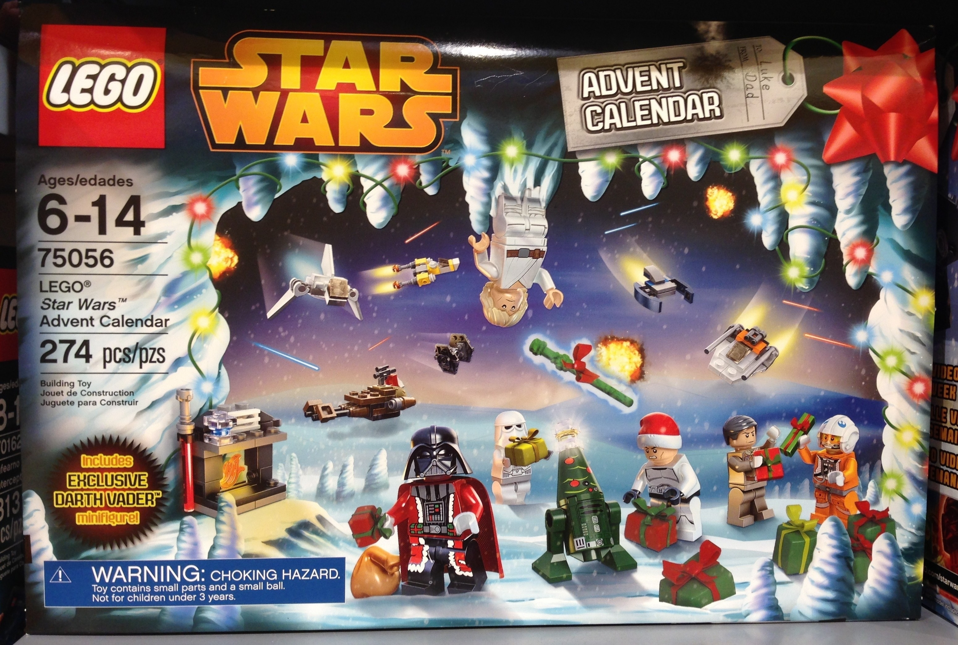 Lego Star Wars 2014 Advent Calendar Released In Stores! - Bricks And intended for The Lego Star Wars Chirstimas Set Code