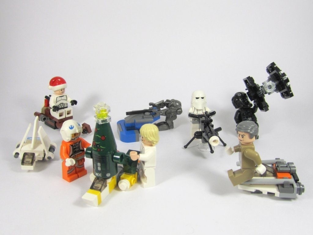 Lego Star Wars Advent Calendar 2014 – Jay's Brick Blog regarding The Lego Star Wars Chirstimas Set Code
