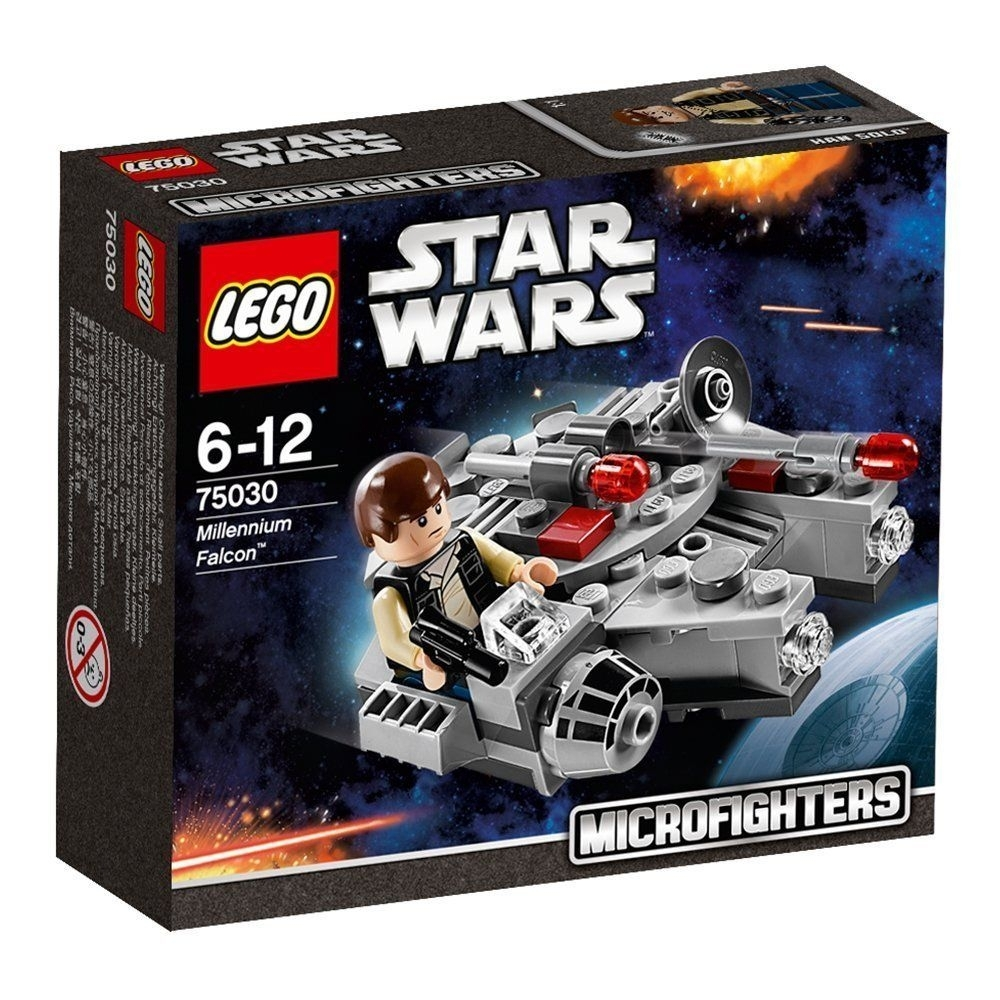 Lego Star Wars Microfighters: Millennium Falcon (75030) Manufacturer inside The Lego Star Wars Chirstimas Set Code