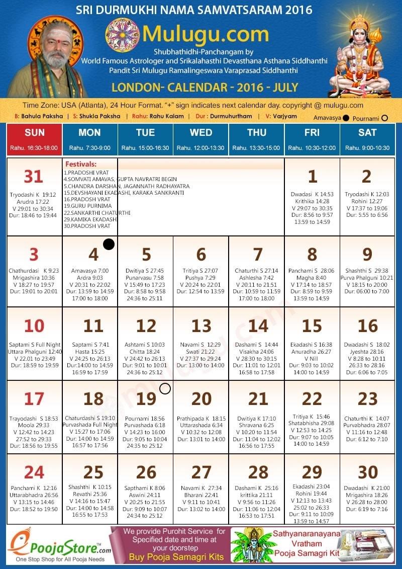 London Telugu Calendar 2016 July For 1998 | Otohondalongan pertaining to February 6 1998 Hindu Calendar
