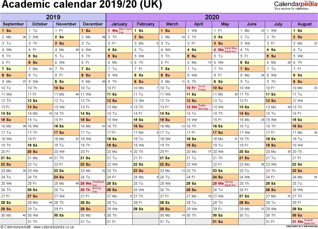 Lsu Academic Calendar 20192019 Academic Calendars 2019 2020 As Free with regard to Free Printable Academic Calendar 2019 2020